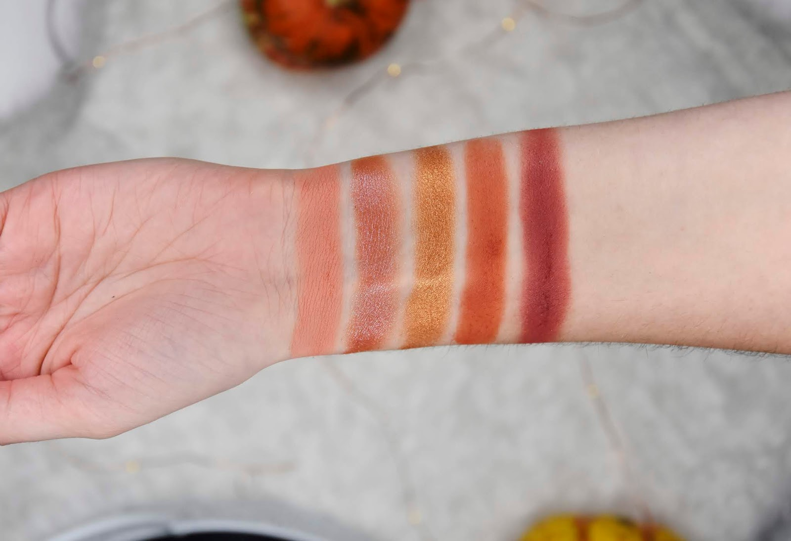 colourpop fortune swatches