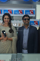 Rakul Preet Singh in a Designer saree at Launch of BIG C Show room at  Kurnool ~ Celebrities Galleries 060.jpg