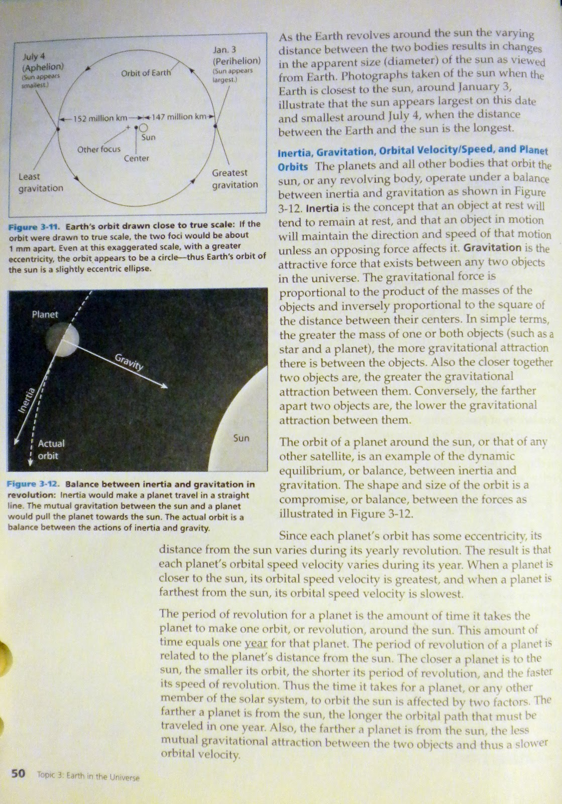 Earth Science Reference November