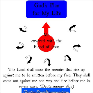 The Lord shall cause the enemies who rise up against me to be smitten before my face. They shall come out against me in one way and flee from before me in seven directions. (Deuteronomy 28:7)