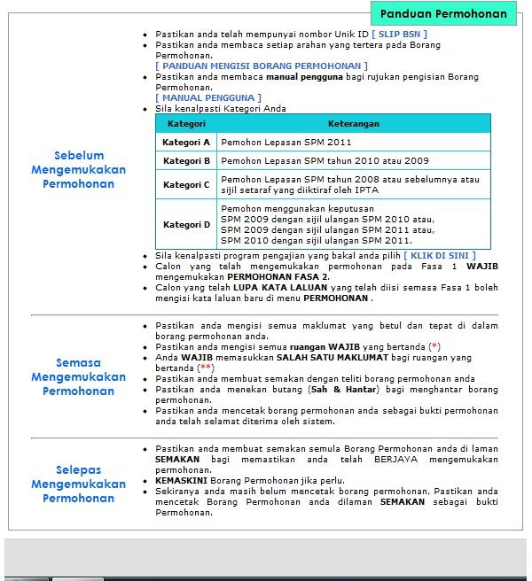 senarai syarat-syarat kemasukan ke politeknik untuk pelajar lepasan SPM