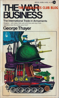 THE WAR BUSINESS - George Thayer, 1970 - book cover