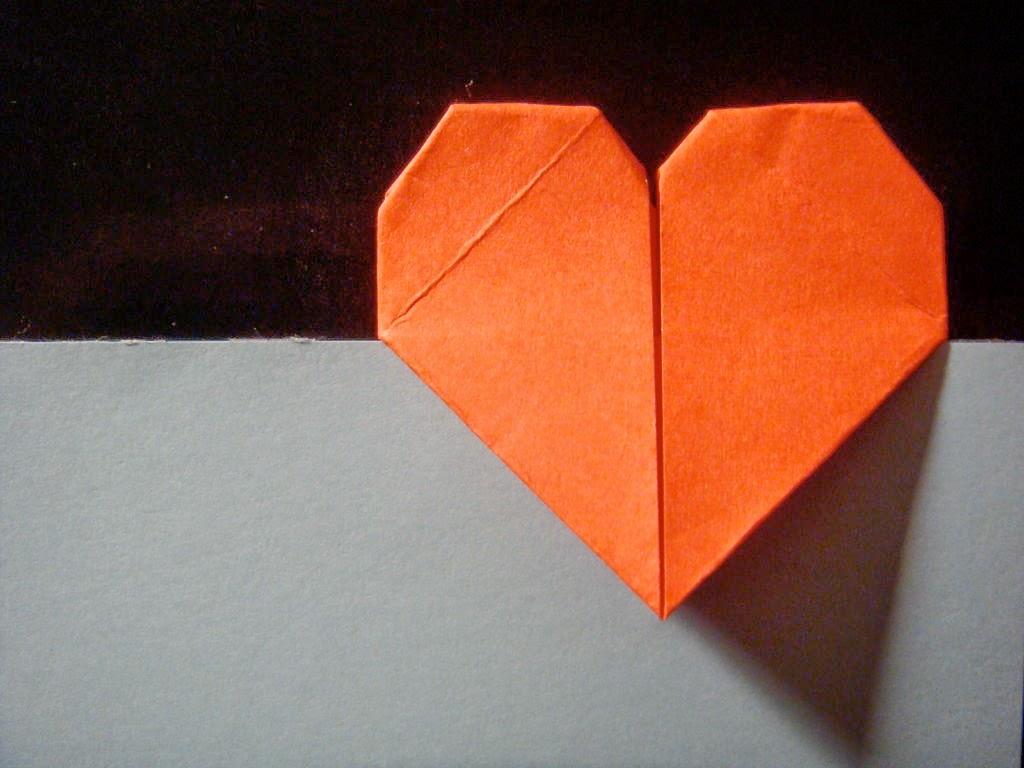 Cara Membuat Pembatas Buku Origami Berbentuk Hati   Ide Plus