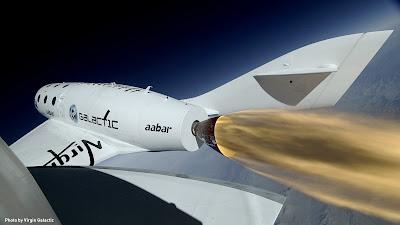 El primer vol amb èxit de Virgin Galactic