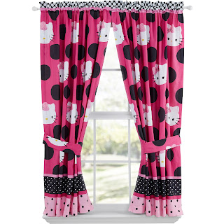 Gambar Gorden Hello Kitty Warna Pink 10