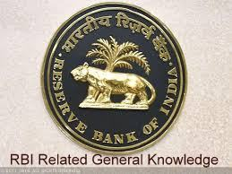 RBI Related General Knowledge in Hindi