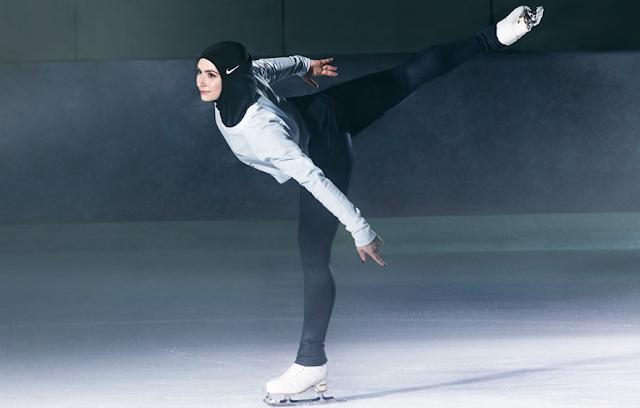 hijab atlet nike