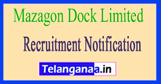 Mazagon Dock Limited MDL Recruitment Notification 2017