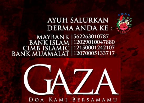 Penipuan Derma Aman Palestin