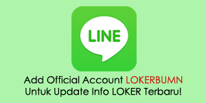 Line Official Account lokerbumn