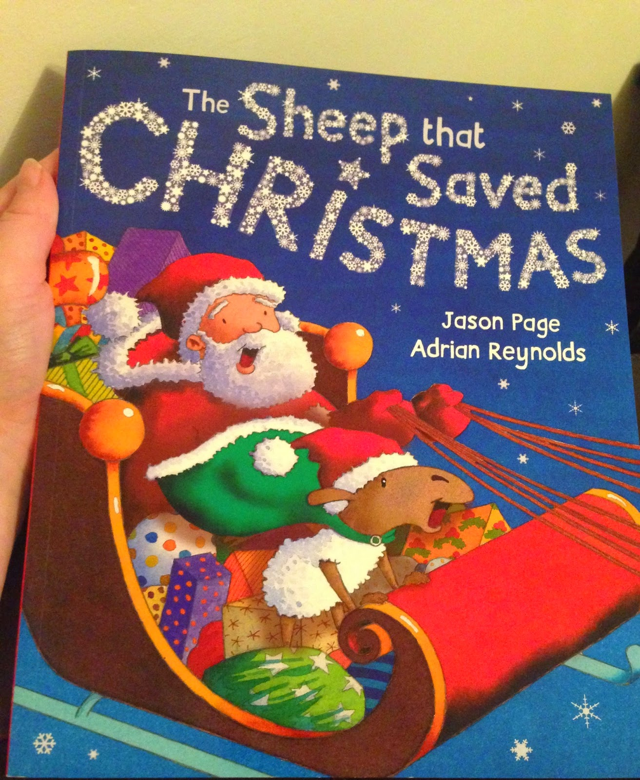 Our Christmas Book Advent tree | Ideas for the Best Children's Books to Buy this Christmas - The Sheep that saved Christmas