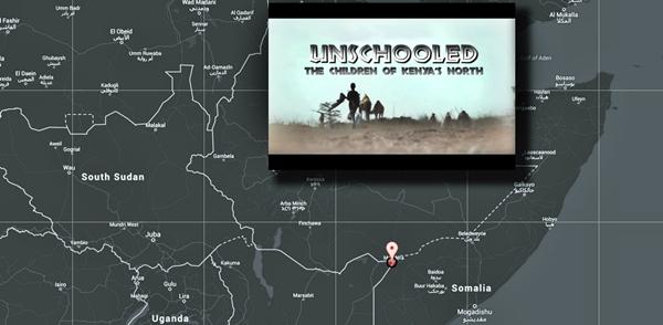 vidéo dans la région de Mandera au Kenya