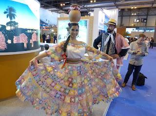 Vestimenta de Paraguay, Fitur, La vuelta al mundo de Asun y Ricardo, round the world, mundoporlibre.com