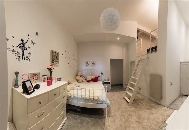 dormitorio infantil con altillo chicanddeco