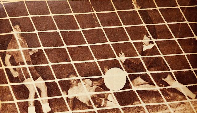 Brasil y Chile en Copa O'Higgins 1955, partido de vuelta