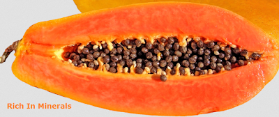 Health Benefits of Papaya - Paw paw Rich In Minerals