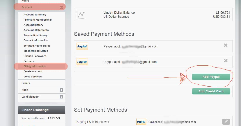 Linden Dollar Kaufen Paypal