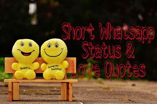 Whatsapp status and love captions.