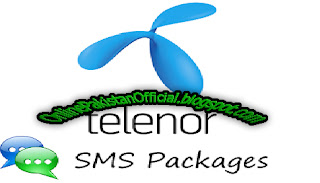 telenor sms packages Daily, Weekly,15 Days, Monthly