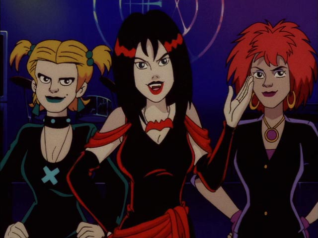 Goth Girls In Cartoons Extra Shadows