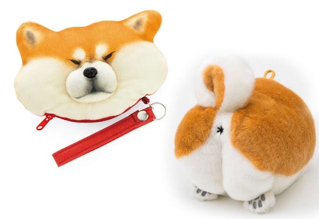 【受不了】超可愛的柴犬商品 很想捏牠的臉臉和屁屁
