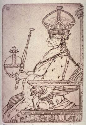 Εικονογράφηση του Marcus Behmer του 1914 για τον Ψαρά και τη Γυναίκα του, από τους αδερφούς Γκριμ