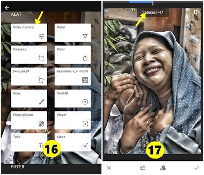 Cara Membuat Foto Efek HDR di Smartphone dengan Snapseed 6