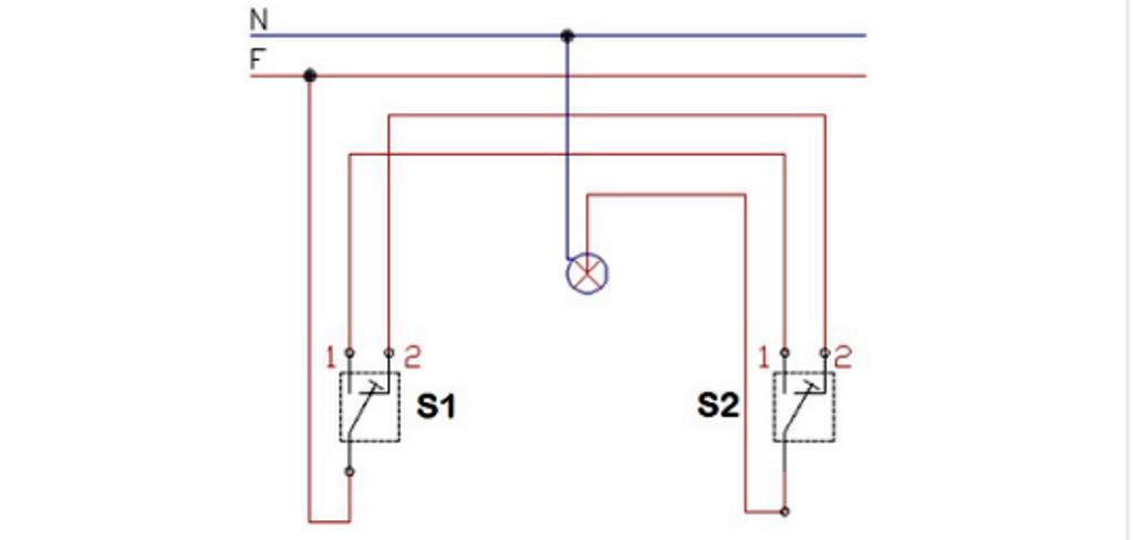 Teori Kelistrikan: Satu Lampu 2 Saklar