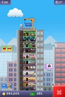 Play Tiny Tower on smart mobiles