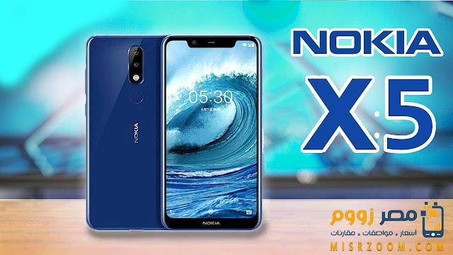 مواصفات وسعر هاتف Nokia X5 بالصور والفيديو