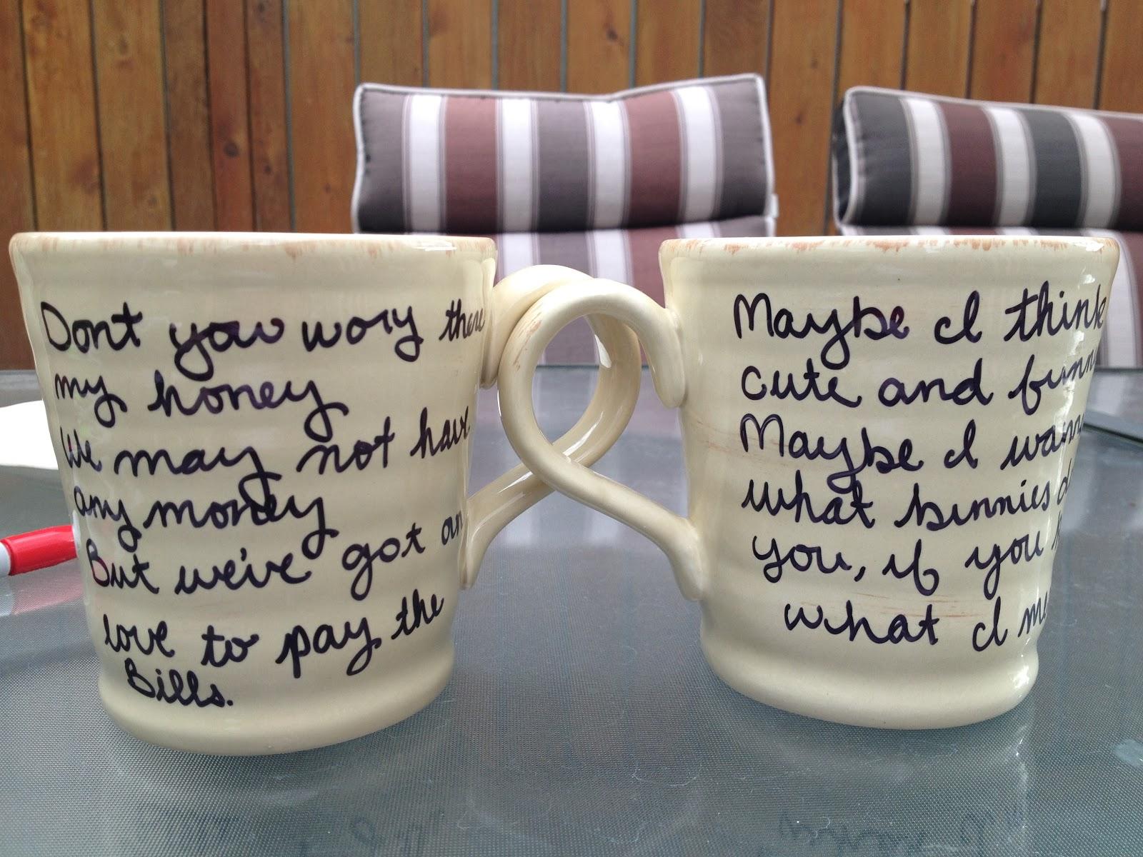 Viva La Broke Diy Personalized Mugs