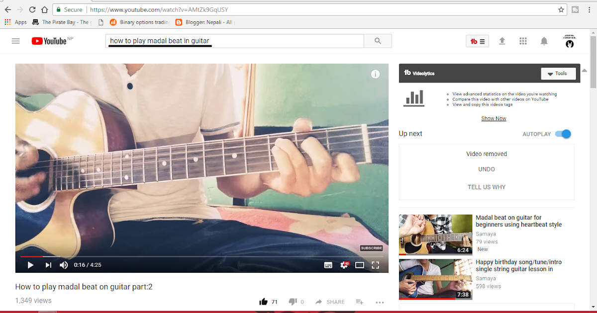 Play madal beat in guitar very easily  - Promotion