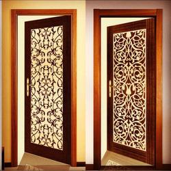 Architecture u0026 Design 15 Modern CNC Wooden Door Designs & 15 Modern CNC Wooden Door Designs - Architecture u0026 Design pezcame.com