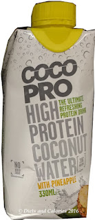 Coco Pro coconut water high protein with pineapple