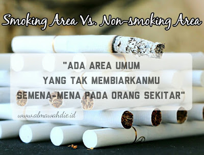smoking area vs. non-smoking area kontroversi perokok