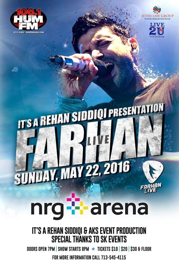 Farhan Akhtar Live in Concert Houston