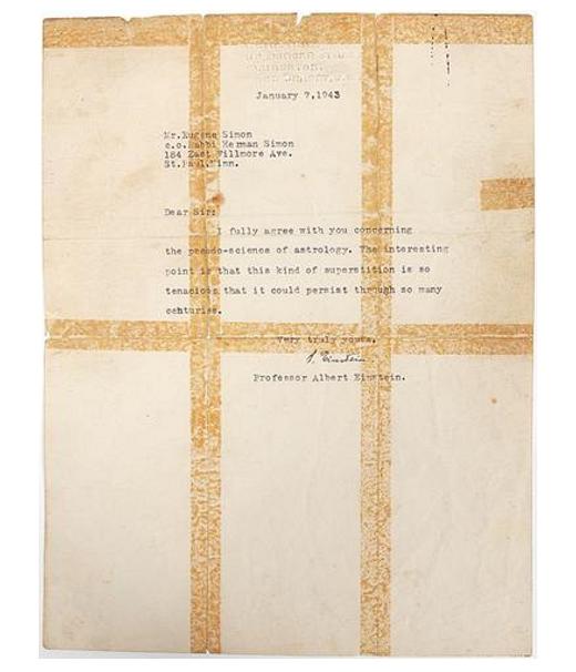 rhetorical analysis of albert einsteins letter Freud's letter to einstein: meaning and interpretation letter to einstein is a world famous letter written by the 20th century well known psychologist sigmund freud to the famous physicist albert einstein.