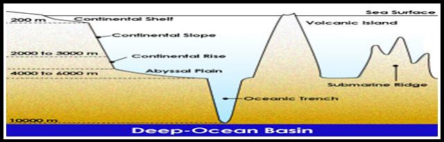 pengertian relief dasar laut