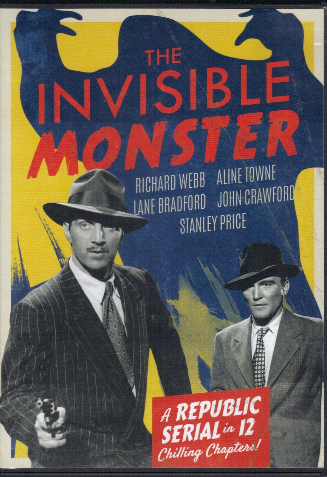 the invisible monster The invisible monster was one of twenty-six republic serials re-released as a film on television in 1966 the title of the film was changed to slaves of the invisible.