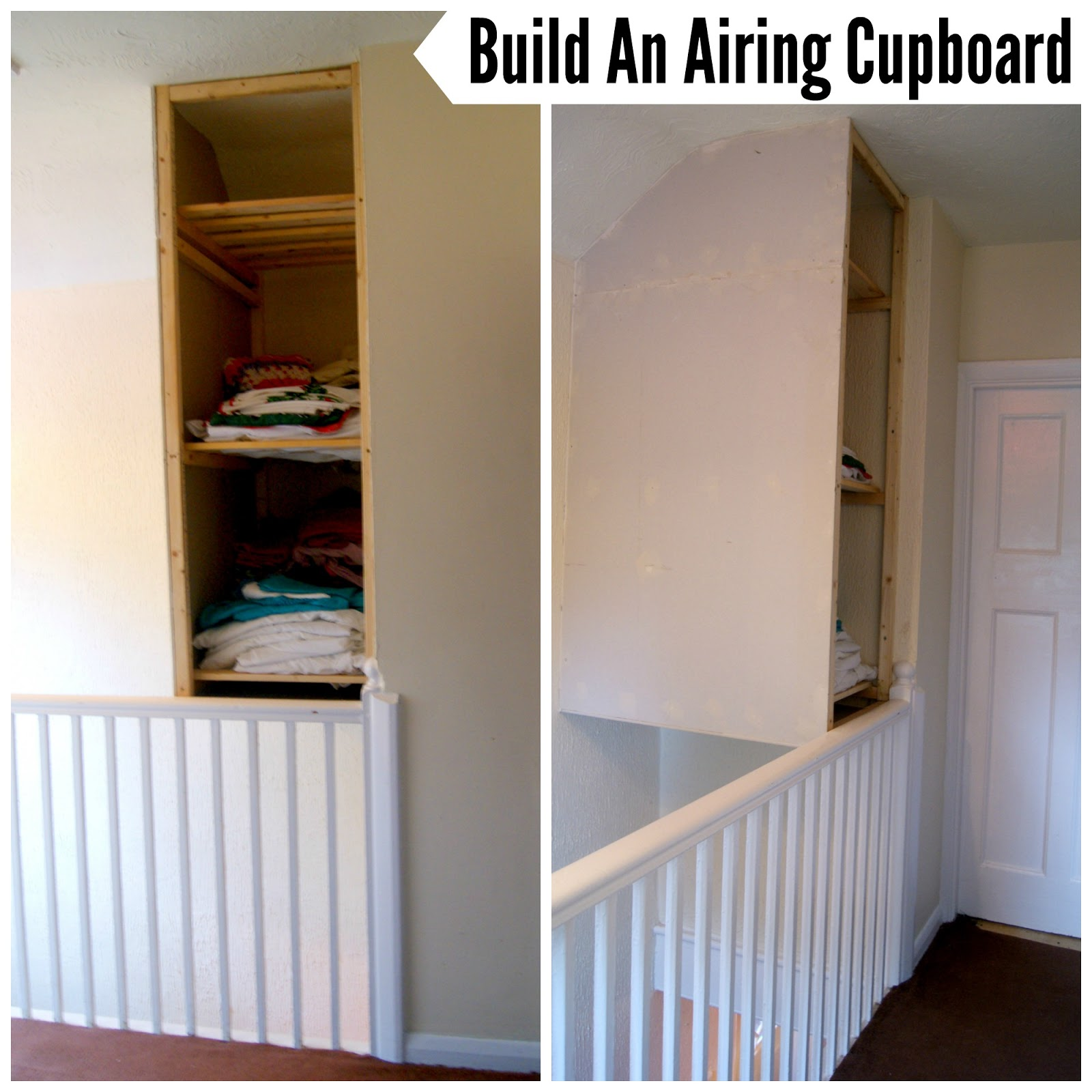 The Syders Home On A Budget Build An Airing Cupboard