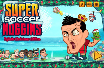 Super Soccer Noggins (Infinite Christmas Edition)