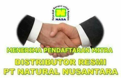 pendaftaran distributor nasa
