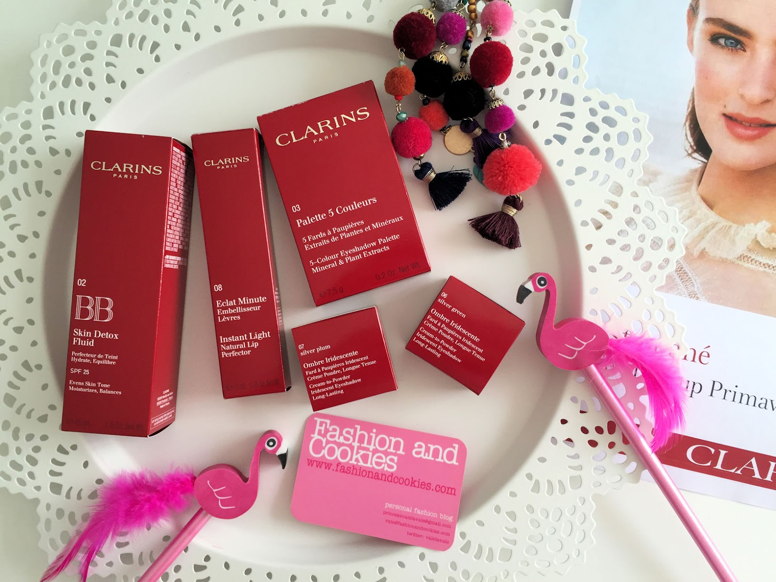Clarins makeup Instant Glow Spring 2016 collection review on Fashion and Cookies beauty blog, beauty blogger