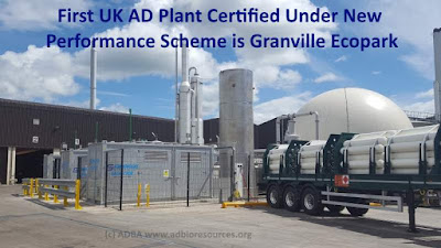 AD Plant Certification Scheme