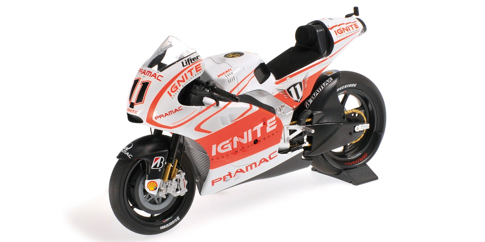 Racing Scale Models Ducati Desmosedici Bspies 2013 By Minichamps Tamiya Kits 112