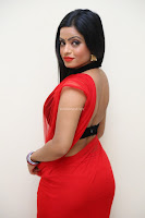 Aasma Syed in Red Saree Sleeveless Black Choli Spicy Pics ~  Exclusive Celebrities Galleries 063.jpg