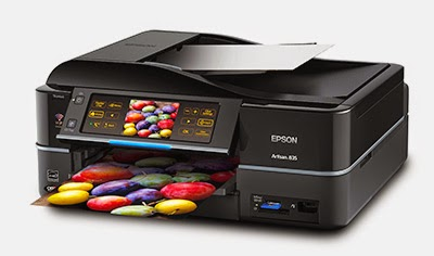 epson artisan 835 cd printing software