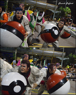 Desfile Inaugural del Carnaval. Uruguay. 2017 Murga La Martingala