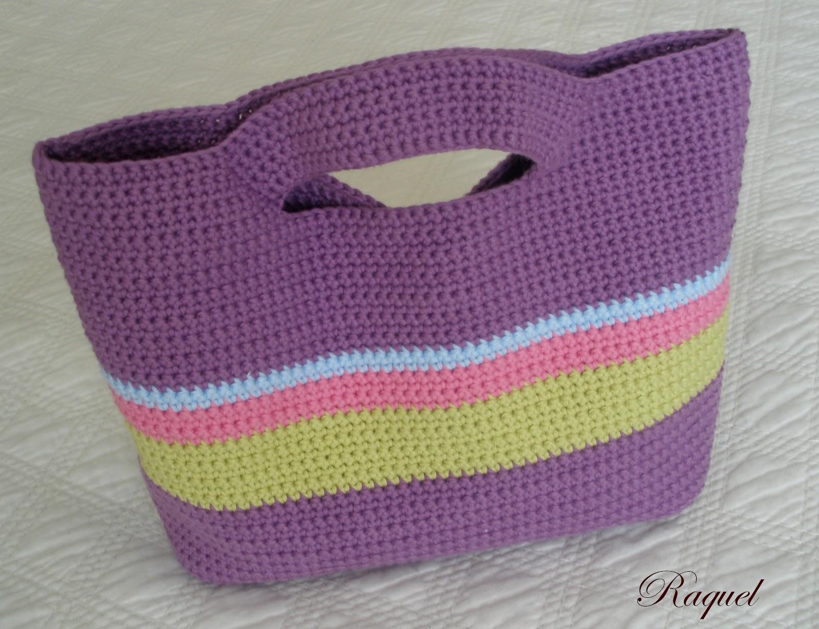 Bolso de ganchillo paso a paso patrones crochet - Como hacer bolsos tejidos ...