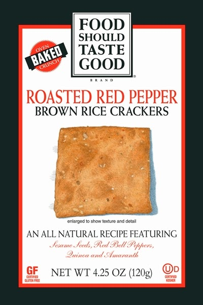 Food Should Taste Good Brown Rice Crackers